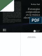 Sigal, Rodrigo - Estrategias Compositivas en La Música Eleactroacústica
