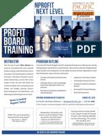 Nonprofit Board Training April 2019