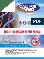 NATIONAL SEPSIS FORUM-2nd Announcement.pdf