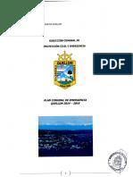 Plan de Emergencia Comunal 2014-2016