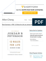 Best Summary + PDF_ 12 Rules for Life, by Jordan Peterson _ Allen Cheng