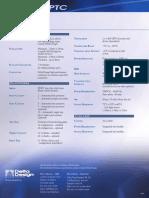 Summit PTC Data Sheet 0805