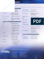 Summit SHP Data Sheet 0805