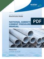 National Asbestos Cement Pressure Pipe Manual Volume 1 FINAL WEBSITE