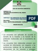 Variantes de Encuesta y Dif.