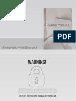 8Dio Hybrid Tools 1 - User Manual