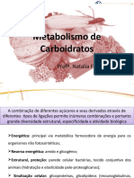 Aula Metabolismo Carboidratos