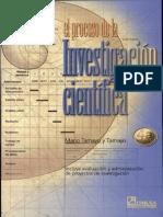 El Proceso de La Investigacion Cientifica. Mario Tamayo y Tamayo. 4ta Edic. 2004
