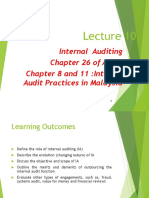 Lecture 10-Internal Auditing