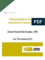 eficiencia energética en educación