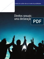 Declaração IPPF - Direitos sexuais e reprodutivos