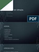 Manejo de Cefalea