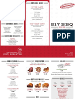 517 BBQ menu