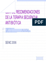 Tera Pia Secuencia l Antibiotic A