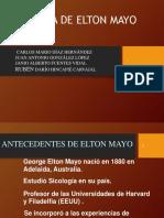 Teoria de Elton Mayo