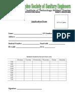 Psse Application Form