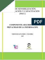 Gt-d-03 Plan de Comunicación y Sensibilizacion