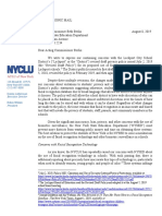 August 8, 2019 NYCLU Letter Re Lockport Privacy Policy FINAL