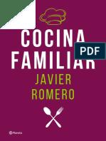 Cocina Familiar Recipes