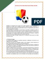17 Reglas de Juego de La Fifa Para Practicar Fútbol Soccer