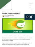 O que é Spring Boot_