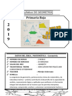 Syllabus de Geometria 2do