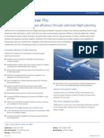 Jetplanner Pro Fact Sheet