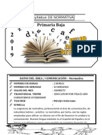 Syllabus de Normativa 2do
