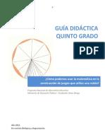 Guia Didactica Quinto