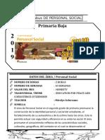 Syllabus de Personal Social 2do