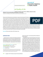 Physical Activity and Quality of Life