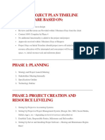Website Project Plan Timeline Estimates Are Based On