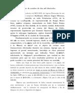 04.10.2018. Fallo Recurso de Proteccion BRAVO Con BANCO de CHILE Rol Proteccion 8922 - 2018