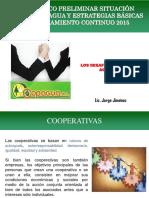 Diagnostico Copagua y Estrategias 2015