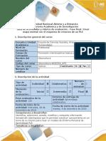 Guía de Actividades y Rúbrica de Evaluación - Fase Final - Crear Mapa Mental Con El Esquema de Creación de Un PLE