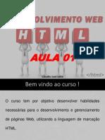 HTML - 1