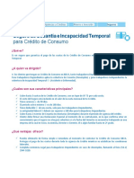 Seguro de Cesanti a e Incapacidad Temporal Para Cre Dito de Consumo VF Tcm1106-626321