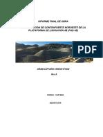plantilla de  informe  Final Noroeste Buttress Pad 4B