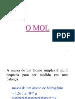 Mol E massa molar.ppt