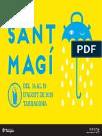 Programa de les festes de Sant Magí 2019