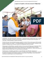 07-06-2019 Gobernador Astudillo Entrega Apoyos en Acapulco y en La Zona Serrana de Chilpancingo.