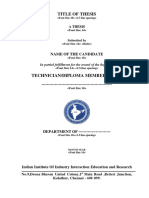 Iiiier Project Format
