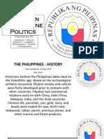 Evolution of Philippine Politics