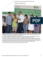 08-06-2019 Beneficia Gobierno de Guerrero a Cientos de Familias Con Programas Sociales.