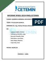 Quimica II Informe Titulacion Quimica