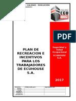 Plan de Recreacion e Incentivos