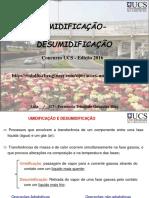 UMIDIFICAÇÃO-DESUMIDIFICAÇÃO_apresentação