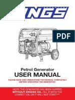 5.5KVA Generator Manual V4
