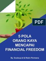 5 Pola Orang Kaya Mencapai Financial Freedom New-min