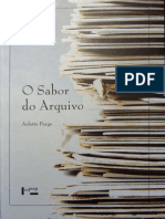 FARGE, A (1989) O Sabor Do Arquivo LOW